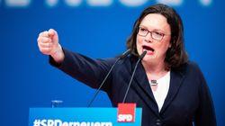 Neue SPD-Chefin: Warum die verflixten 66 Prozent ein schlechtes Omen für Nahles