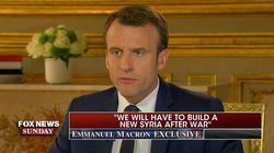 Im TV-Interview verrät Macron, wie er Trump von einem Handelskrieg mit der EU abbringen