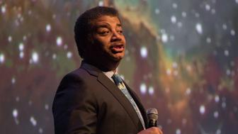 AUSTIN, TX - FEBRUARY 06:  Astrophysicist Neil deGrasse Tyson speaks onstage at the Long Center on February 6, 2018 in Austin, Texas.  (Photo by Rick Kern/WireImage)
