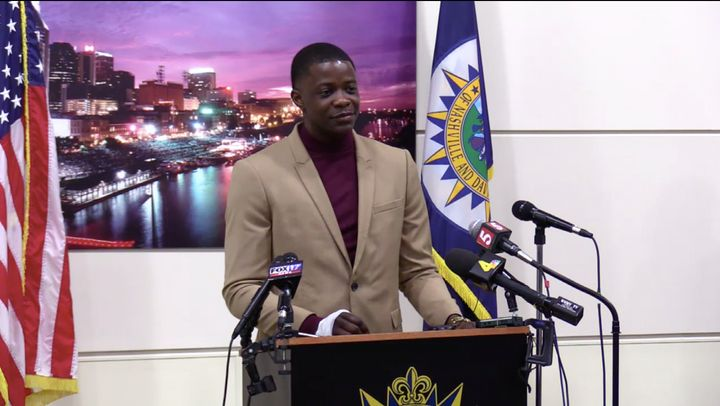 James Shaw Jr., 29, recalls disarming a Waffle House gunman.