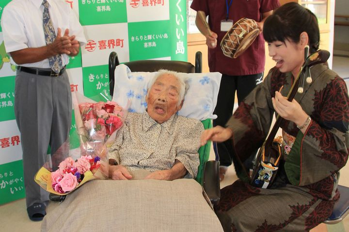 A 117-year-old Japanese woman, thought to be the world's oldest person, has died, a local official told AFP on April 22, 2018