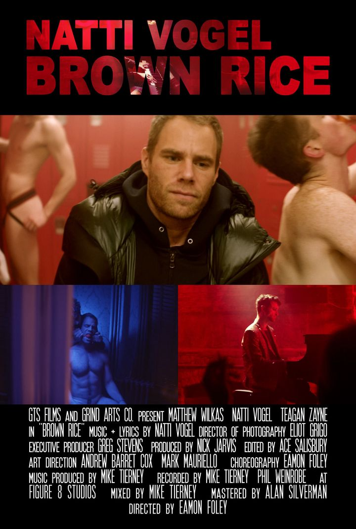 """Released March 29, """"Brown Rice"""" stars actor Matthew Wilkas as a gay man who keeps up a happy appearance on social media yet e"""