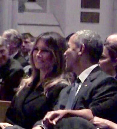 Melania Trump Barack Obama