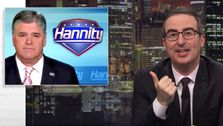 John Oliver Bought An Ad On 'Hannity' To Teach Basic Math To Trump