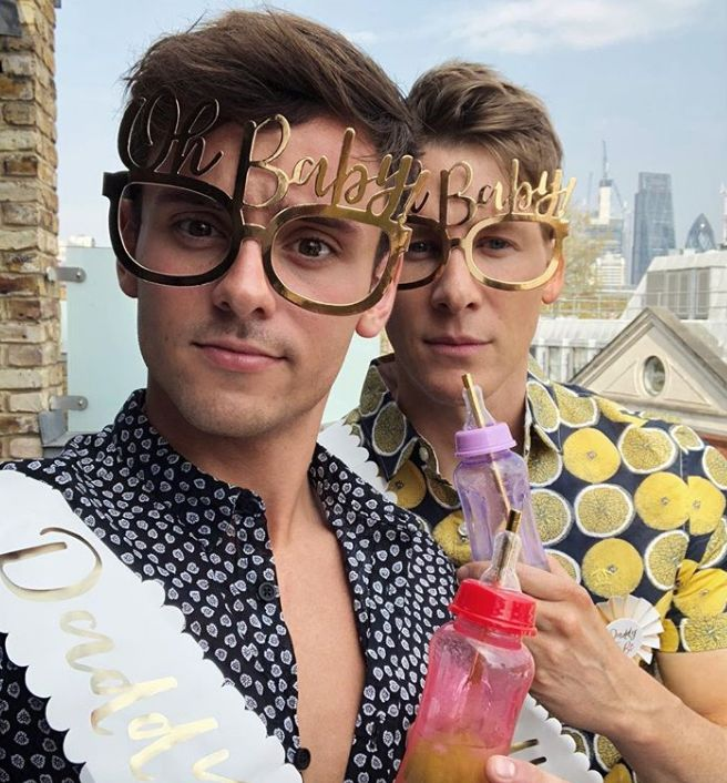 Inside Tom Daley And Dustin Lance Black's Surprise Baby