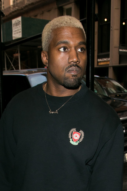 Kanye West in February