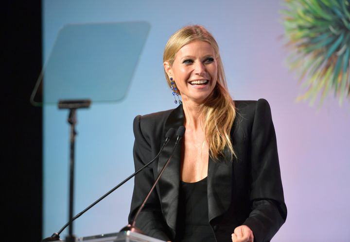 """""""I've been in relationships with men who had intimacy issues,"""" Gwyneth Paltrow says."""