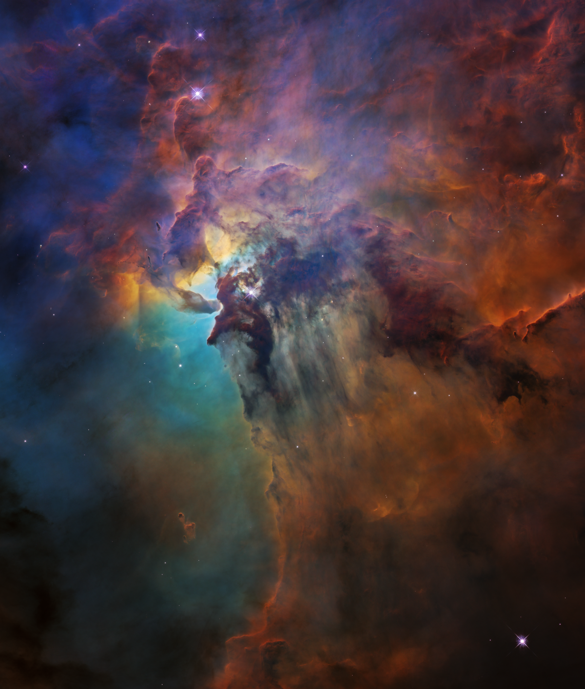 Watch This Incredible Video Of The Lagoon Nebula Captured By Hubble