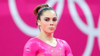McKayla Maroney of the U.S. attends a gymnastics training session at the North Greenwich Arena before the start of the London 2012 Olympic Games July 26, 2012.  REUTERS/Mike Blake (BRITAIN  - Tags: SPORT OLYMPICS SPORT GYMNASTICS)