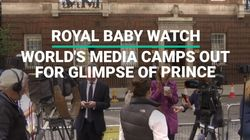Royal Baby Watch: World's Media Camps Out For Glimpse Of New