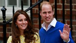 윌리엄과 케이트 미들턴 왕세손 부부가 셋째를