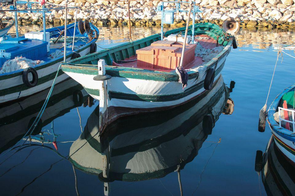 Port de pêche de Zarat,