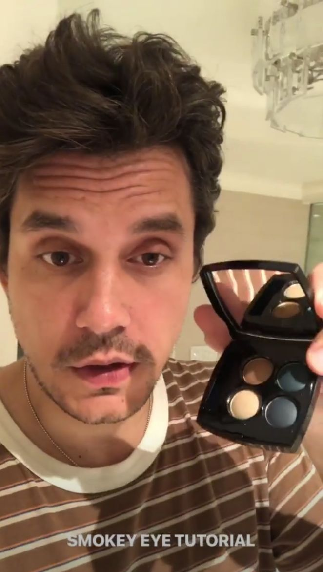 John Mayer Gifts The Internet With A Smoky Eye Tutorial