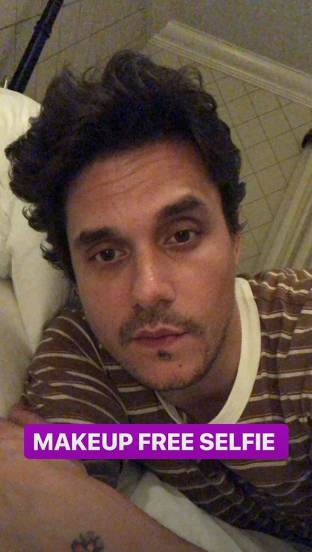 John Mayer Gifts The Internet With A Smoky Eye