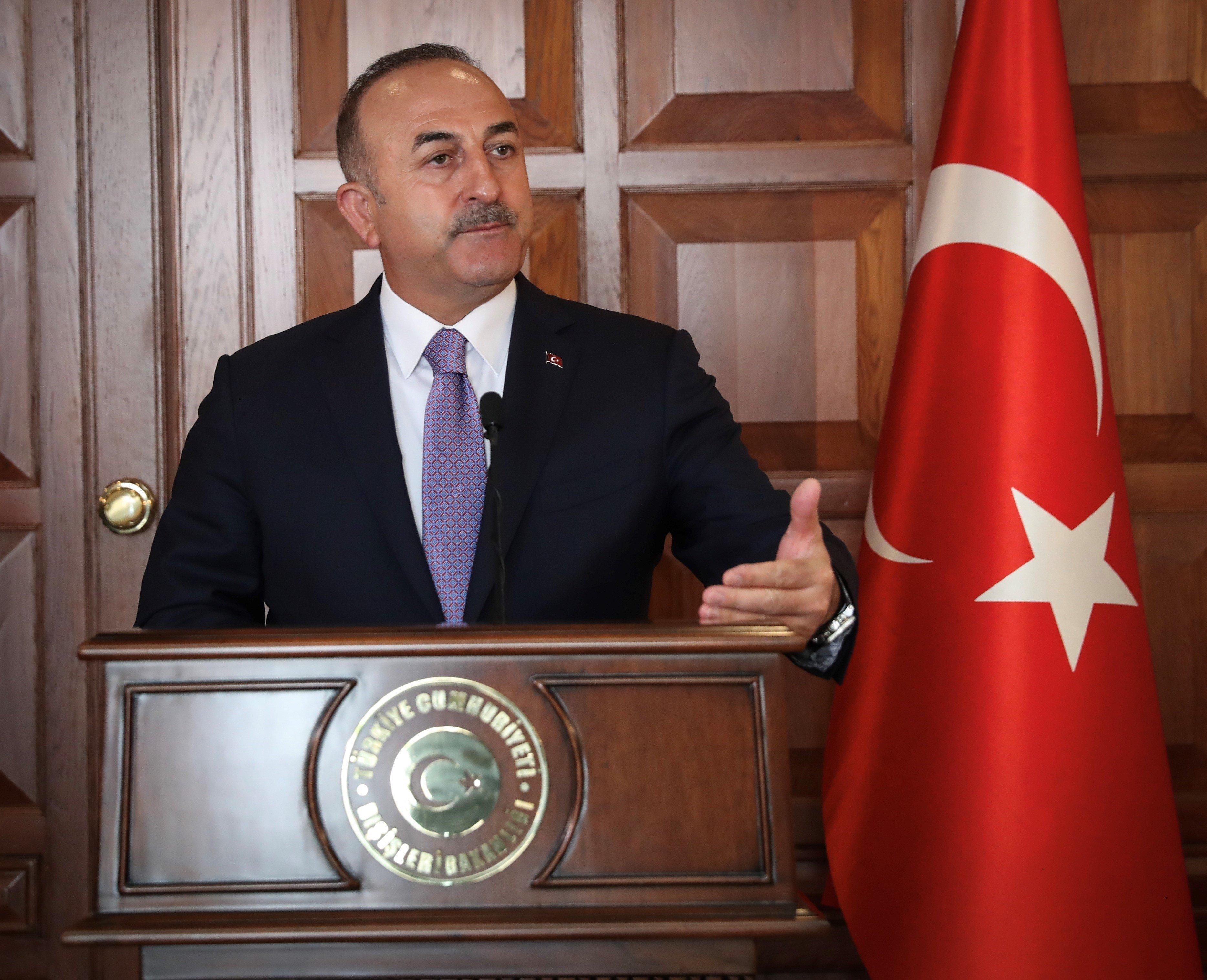 Türkischer Außenminister Cavusoglu verteidigt jüngste Festnahmen von