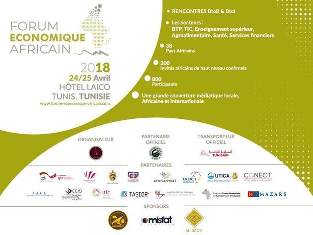 Tout savoir sur le Forum économique africain qui se tient du 24 au 25 avril 2018 à