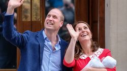 First Royal Baby Photos Captured As Duke And Duchess Of Cambridge Leave