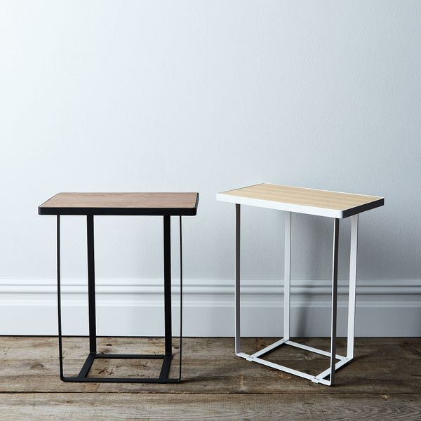 """Get it from <a href=""""https://food52.com/shop/products/3535-wood-top-side-table"""" target=""""_blank"""">Food52</a>."""