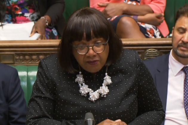 Diane Abbott: 'The Home Secretary said the situation should never have been allowed to happen. She is...