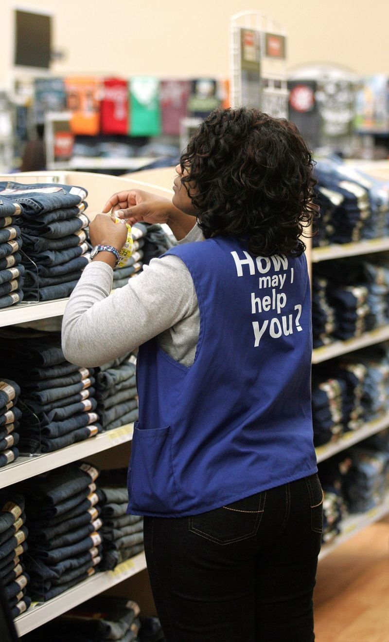 Walmart employees may soon be able to wear jeans to work.