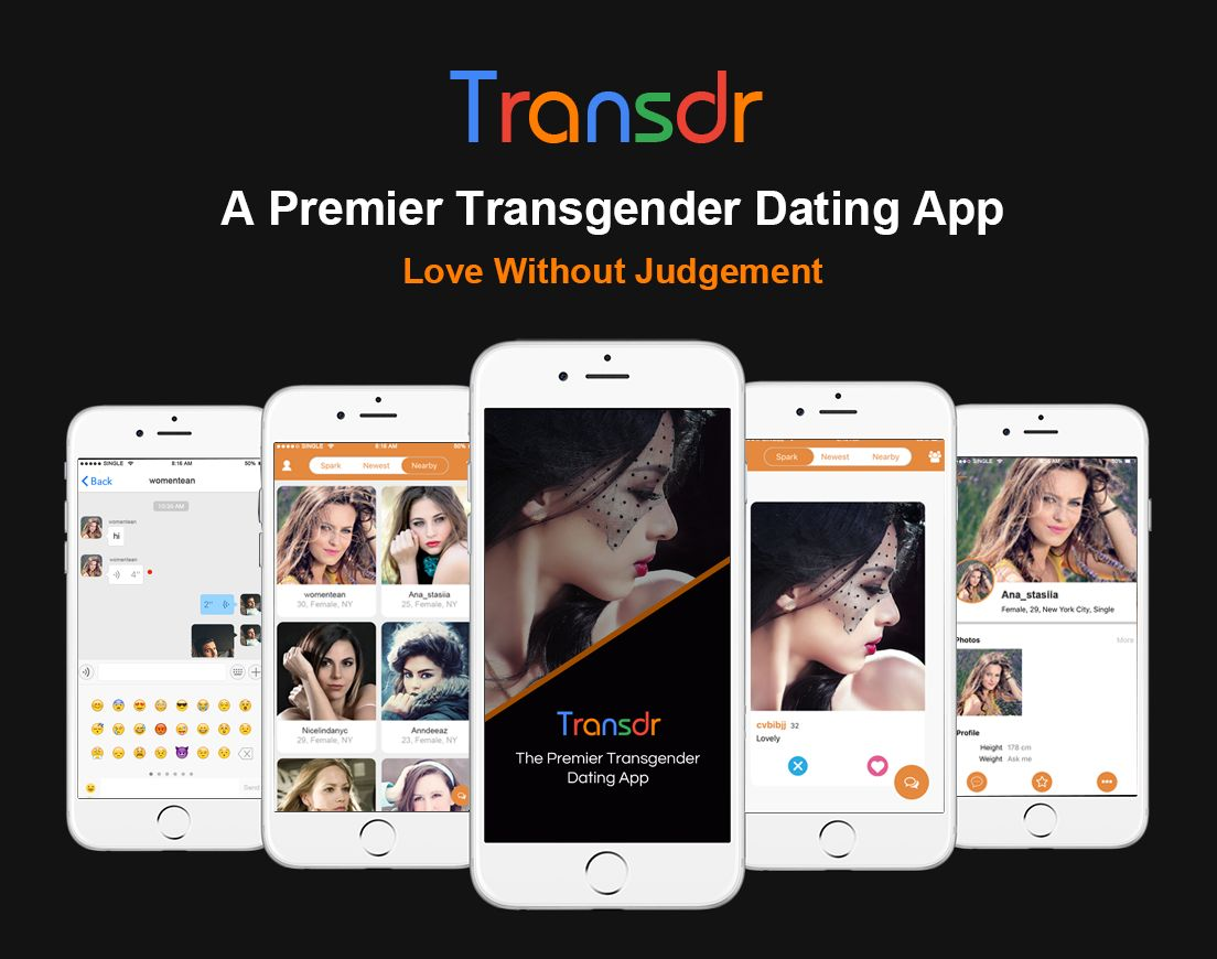 "Billed as ""Tinder for trans people,"" Transdr aims to help connect reliable partners and friends."
