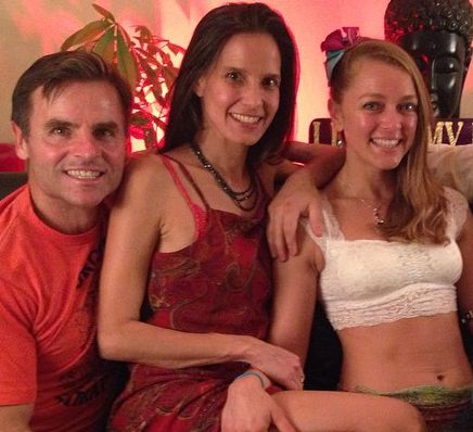 "Michael, KamalaDevi and Roxanne. ""Polyamory is about informed consent with everyone involved,"" KamalaDevi says."