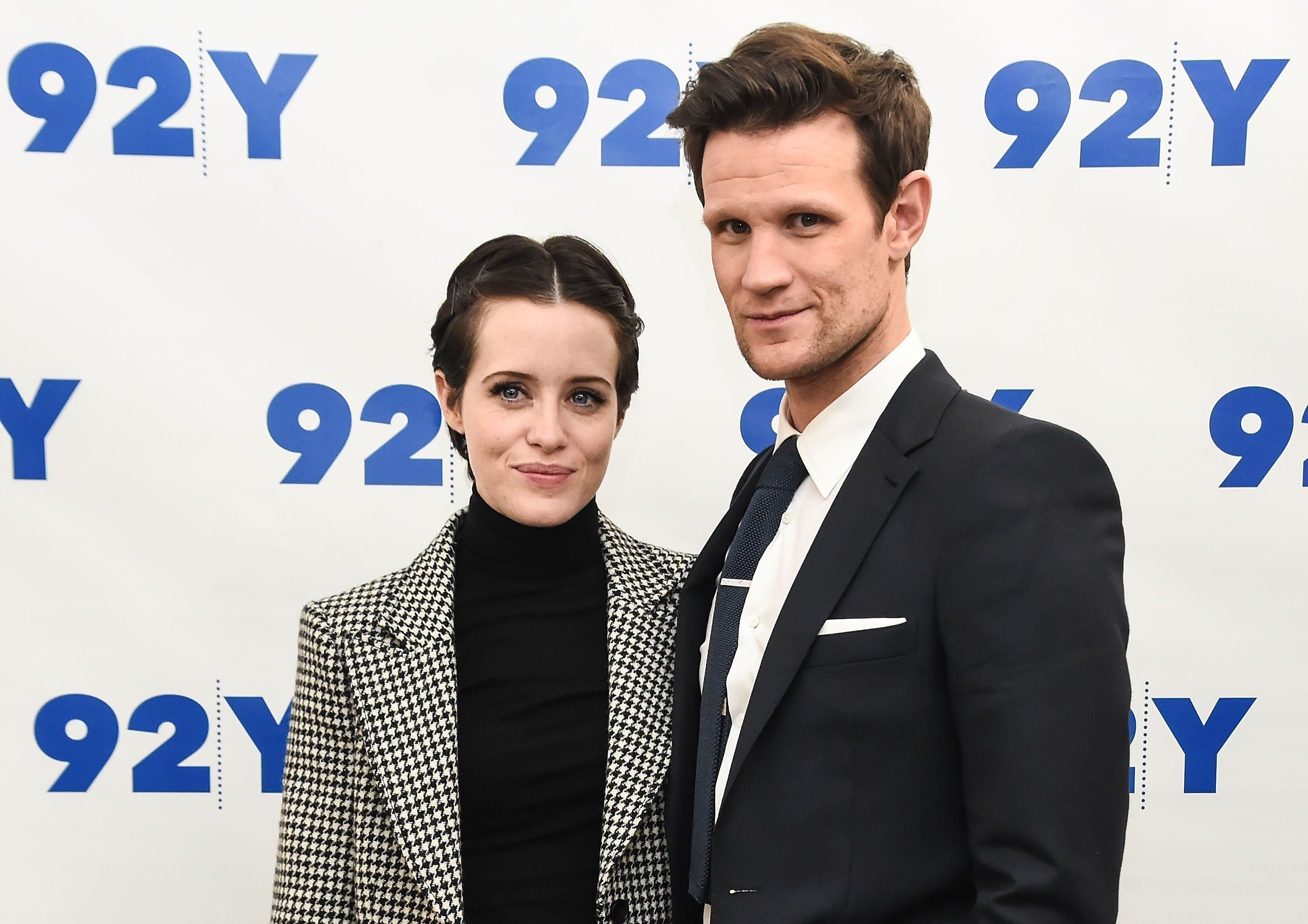 NEW YORK, NY - DECEMBER 04:  Claire Foy and Matt Smith attend the screening of 'The Crown' at 92nd Street Y on December 4, 2017 in New York City.  (Photo by Daniel Zuchnik/Getty Images)