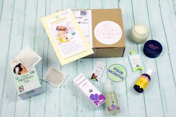 """Get this 'new or expecting mom' subscription box at <a href=""""https://www.cratejoy.com/subscription-box/21-bundles/"""" target=""""_"""