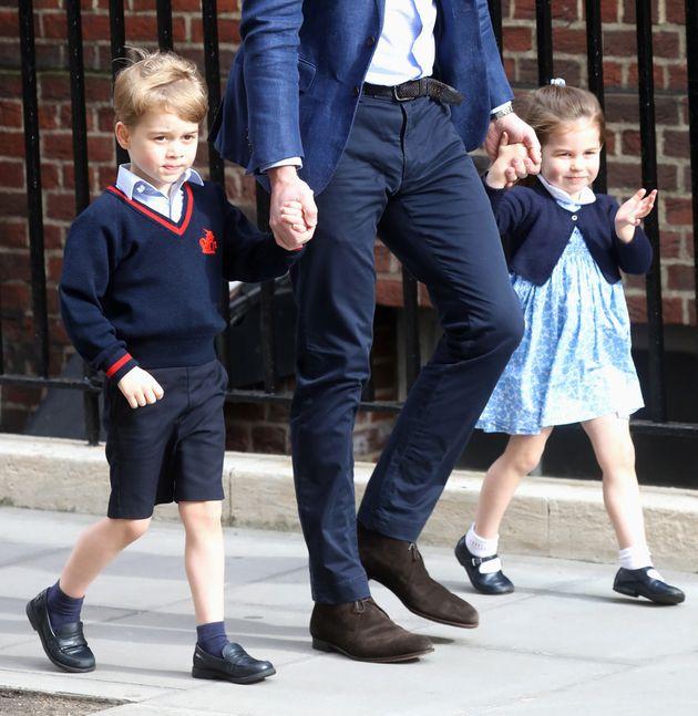 El príncipe Jorge y la princesa Carlota van a conocer a su nuevo