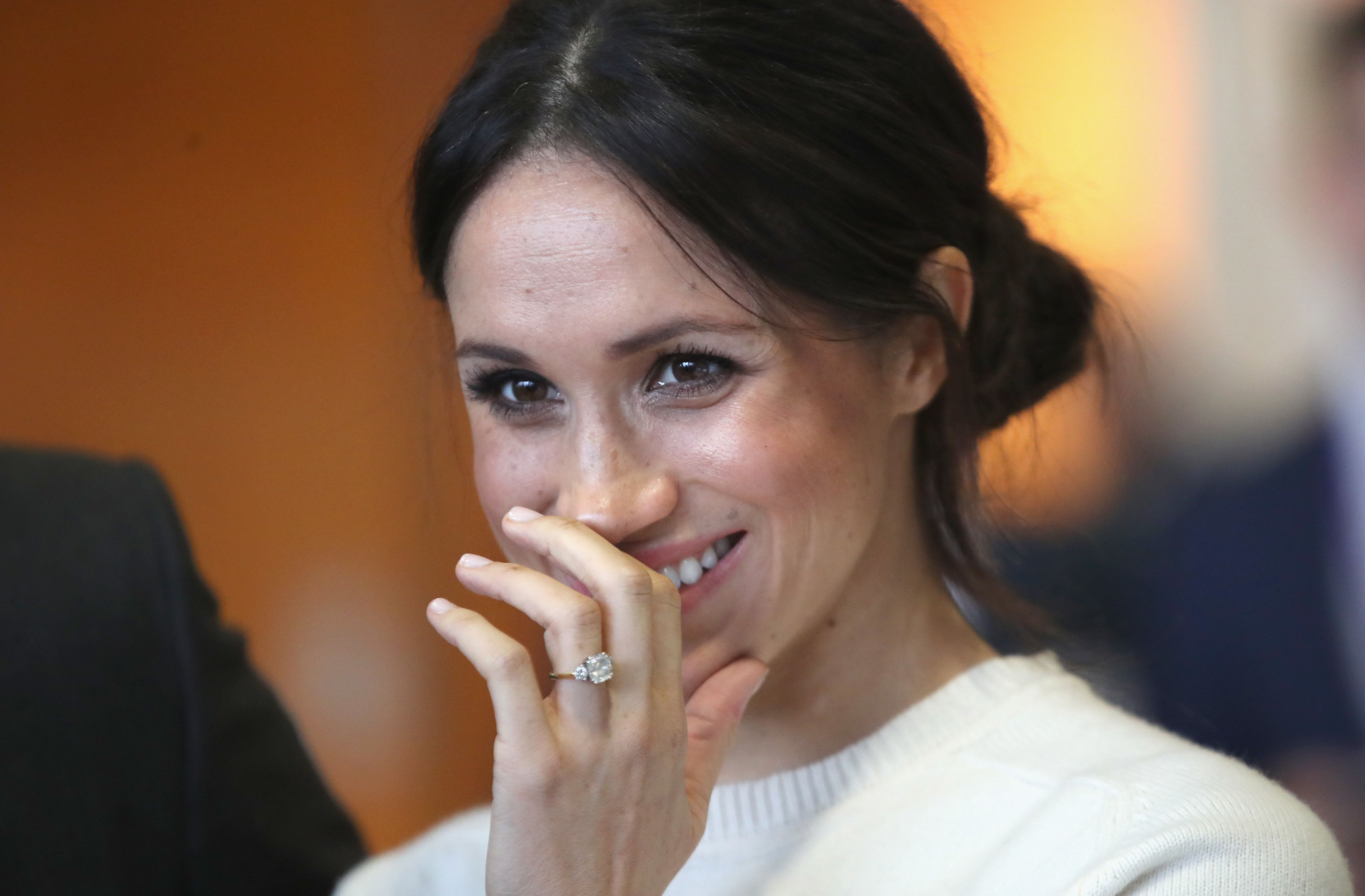 See Meghan Markle In A Wedding Dress Before The Royal Wedding