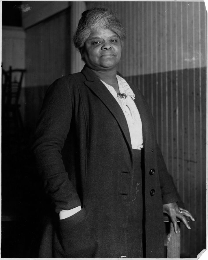 Journalist and activist Ida B. Wells in 1920.
