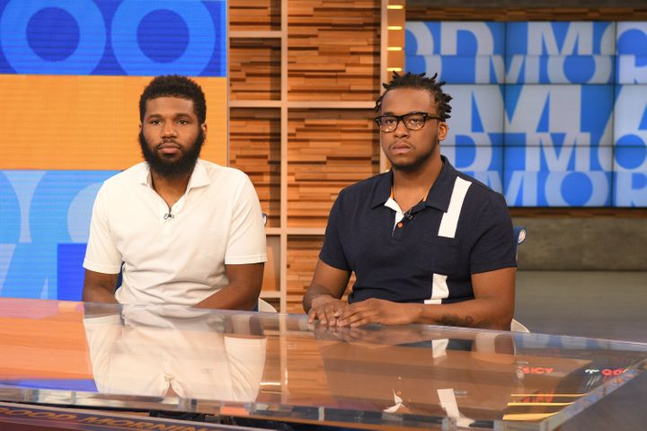 Rashon Nelson and Donte Robinson, the two men arrested at a Philadelphia Starbucks earlier this month, tell their story on AB