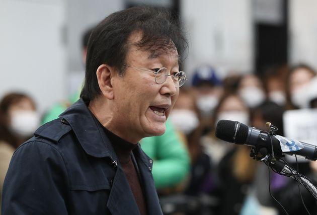 '성추행·성희롱 논란' 하일지 교수의