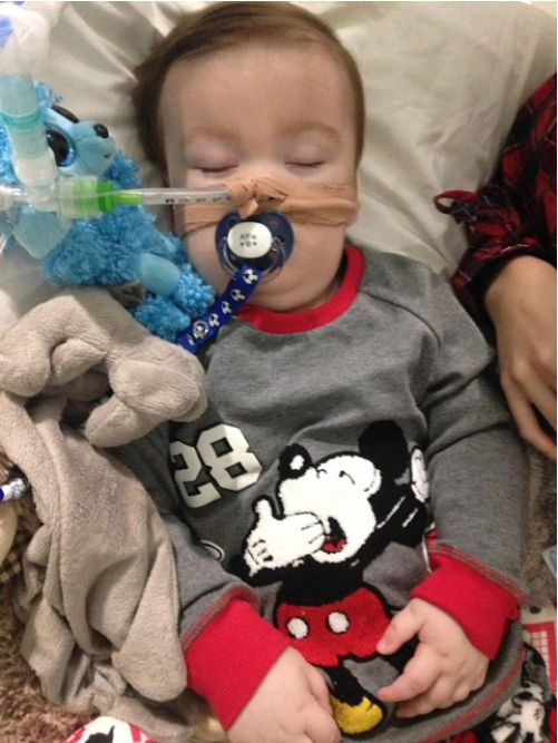 Alfie's parents want treatment to continue and want to fly him to a hospital in