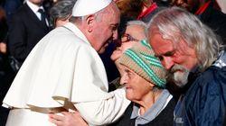 프란체스코 교황이 노숙인들에게 선사한 특별한