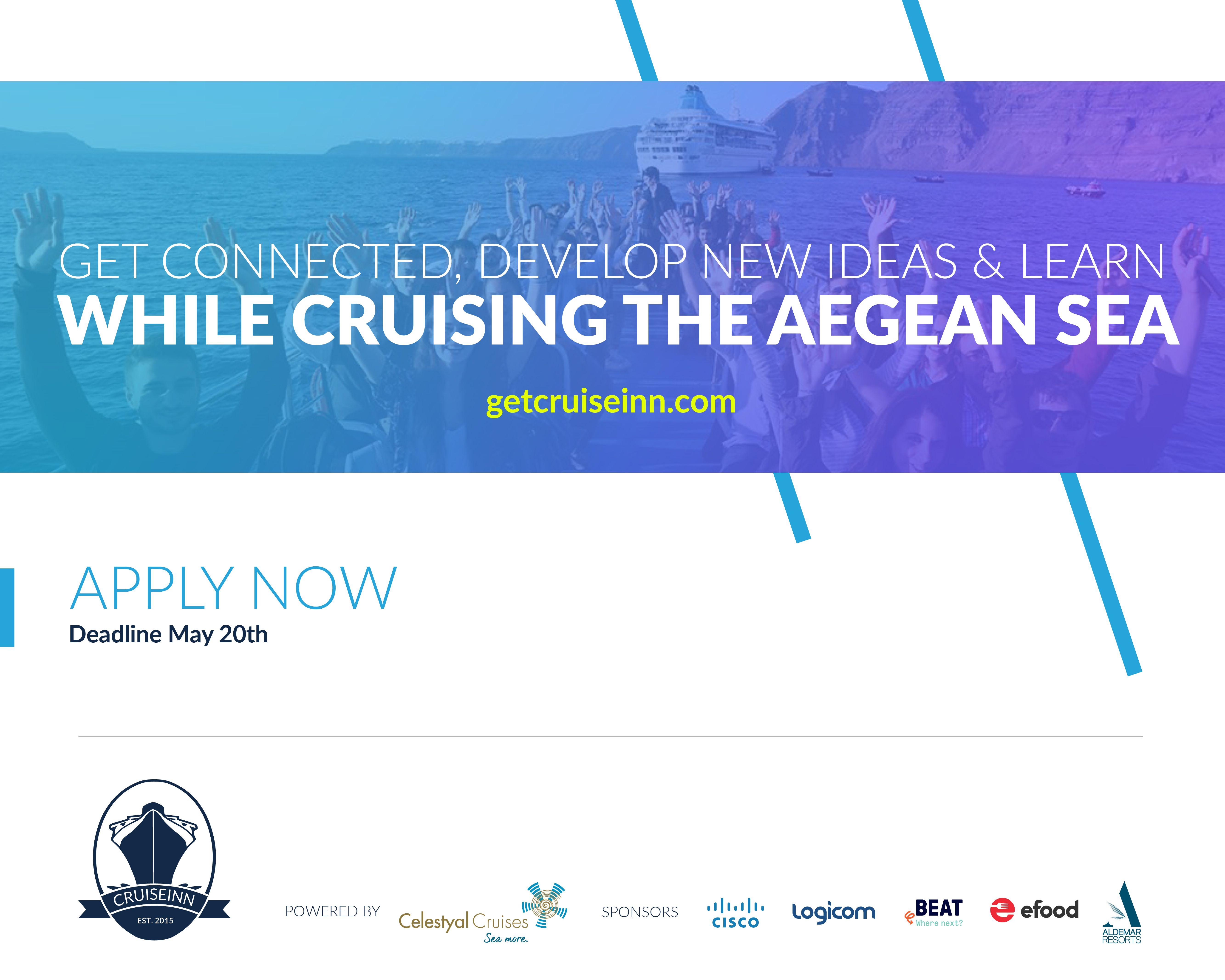 CruiseInn: Εκπαιδεύσου, Δικτυώσου και Ανέπτυξε την επιχείρησή σου ταξιδεύοντας στο Αιγαίο με τη Celestyal
