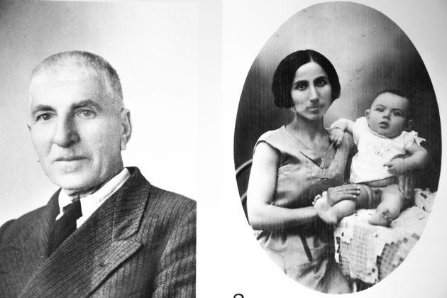 Ο πατέρας και η μητέρα του Αντρέα