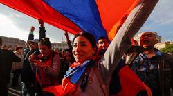 아르메니아 독재자 사르키샨이