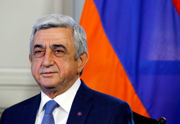 세르지 사르키샨 아르메니아 전