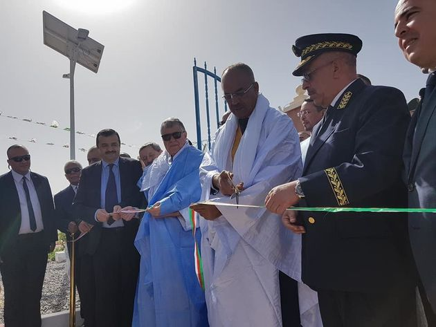 Inauguration dune centrale photovoltaique a