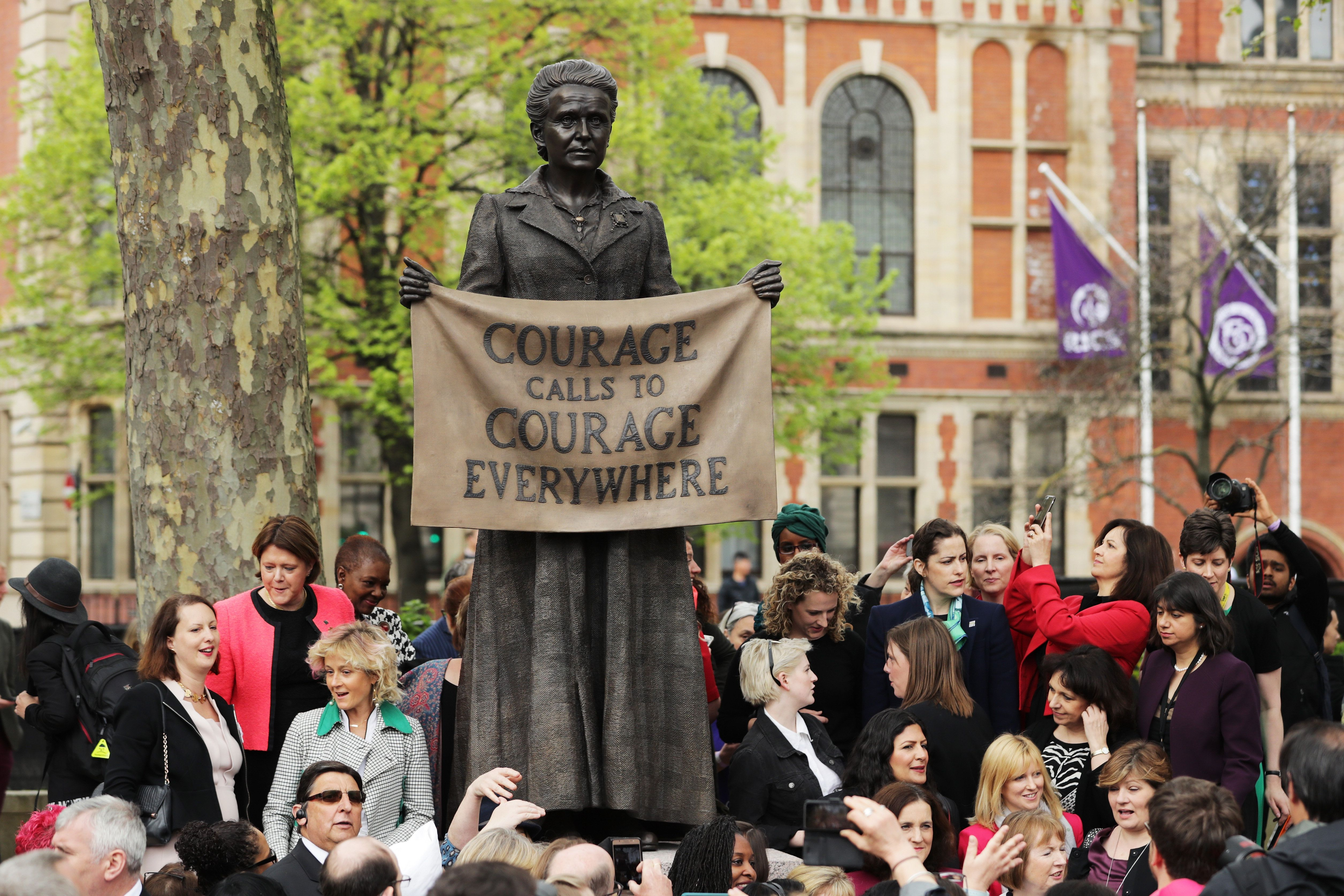 Female MPs Explain Why Millicent Fawcett Statue Is 'Absolutely Massive' For Women And Girls