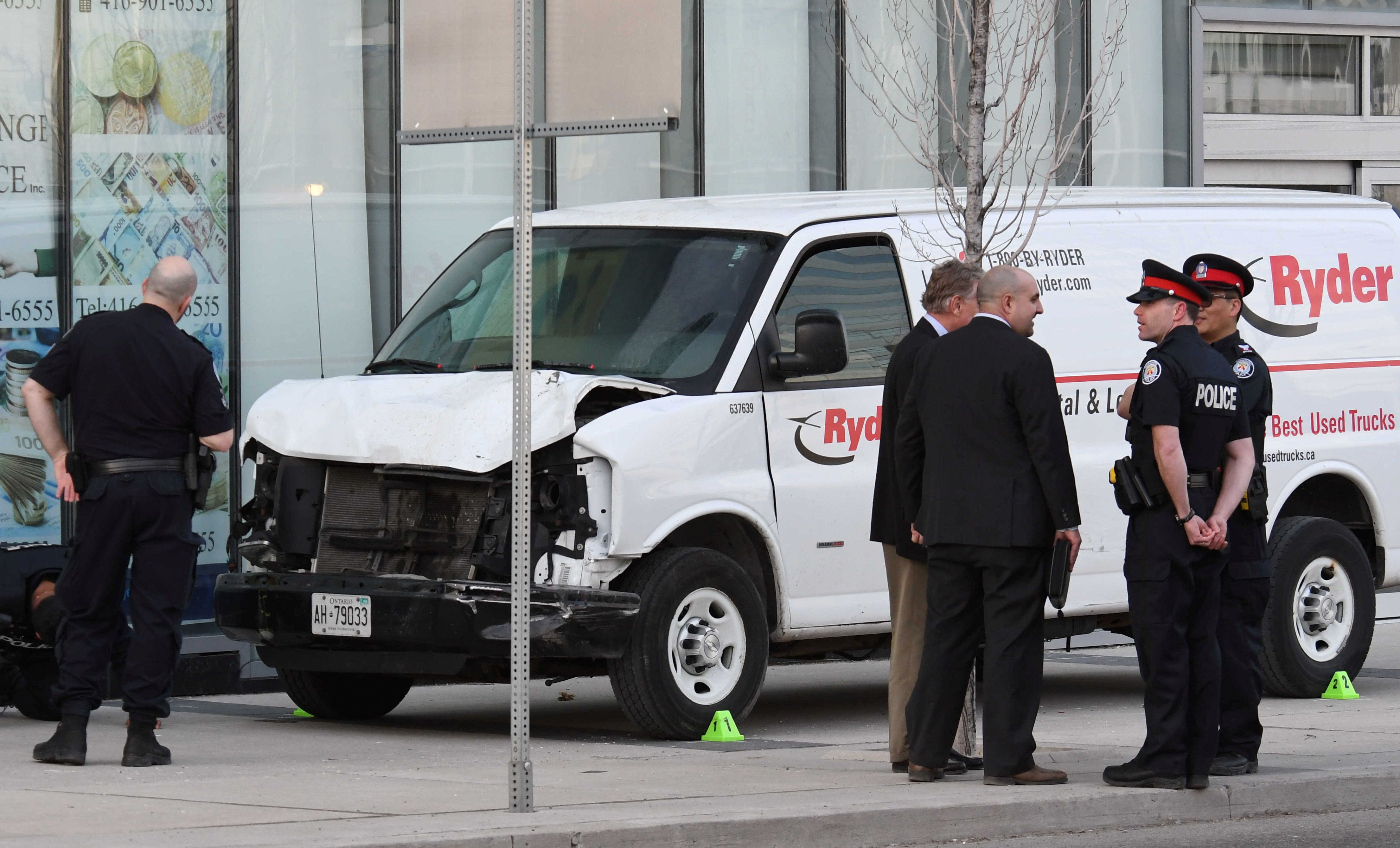 Toronto Van Attack Suspect's Facebook Post Praised Misogynist Mass Killer