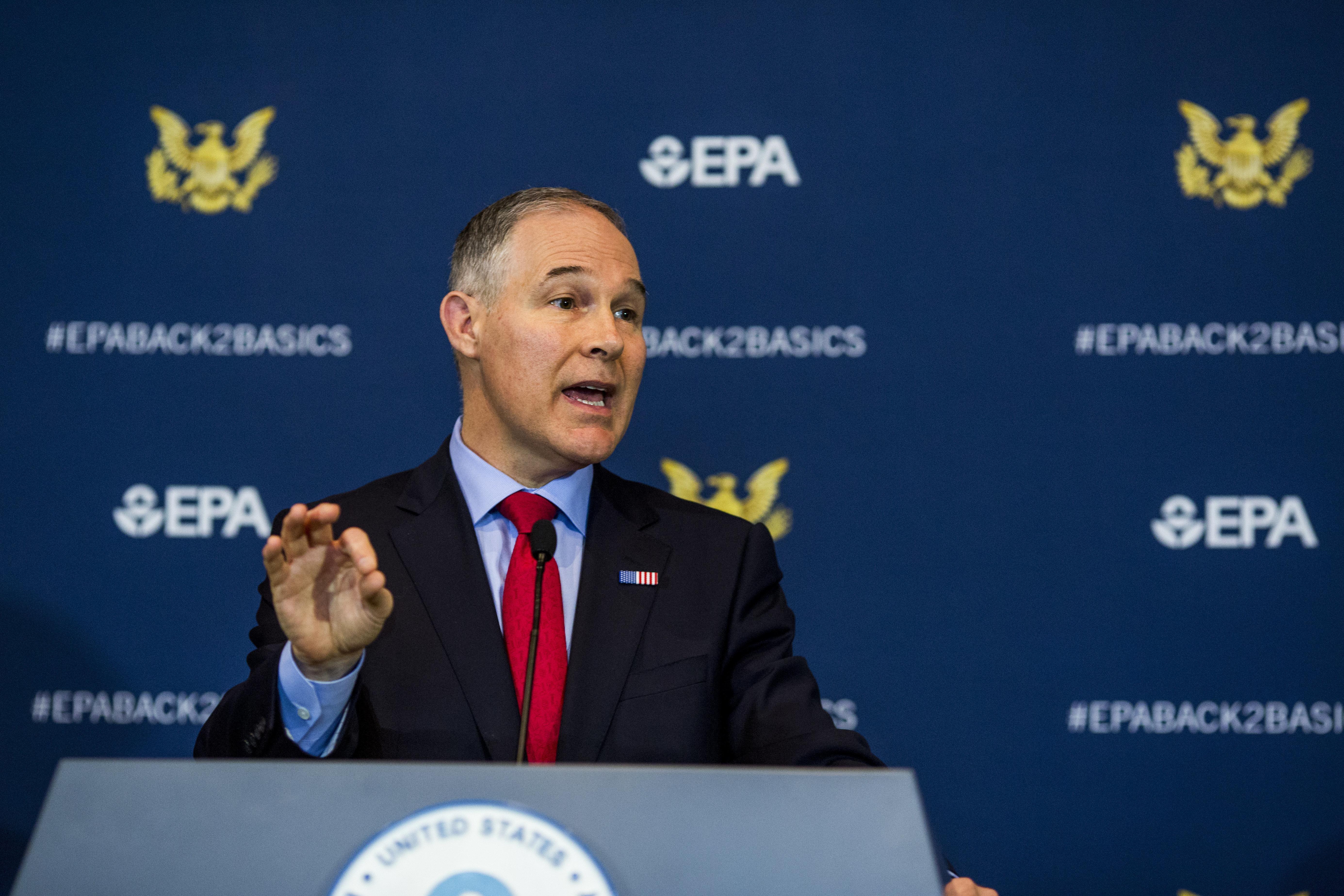 Scott Pruitt Prepares 'Transparency' Rule To Limit The EPA's Use Of Public Health Studies