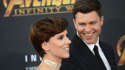 Η Scarlett Johansson και ο Colin Jost για πρώτη φορά μαζί στο κόκκινο
