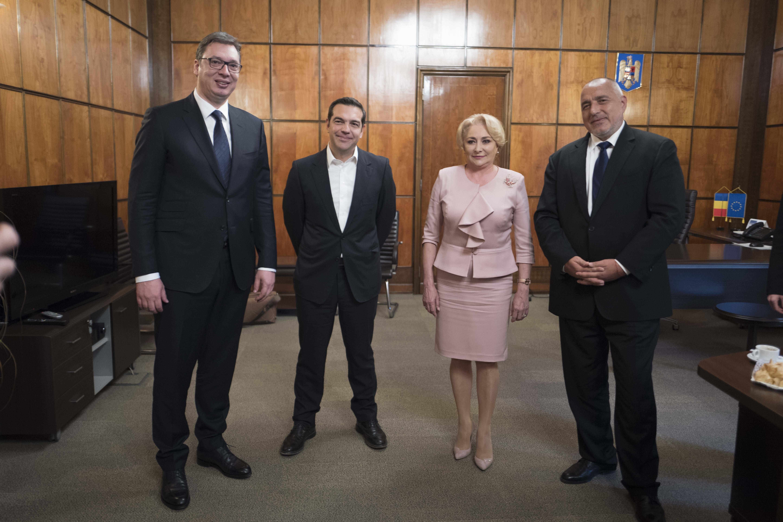 Τι συζητήθηκε στην τετραμερή Ελλάδας - Σερβίας - Βουλγαρίας - Ρουμανίας. Δεν πρέπει τρίτοι να καθορίζουν τις εξελίξεις στην π...