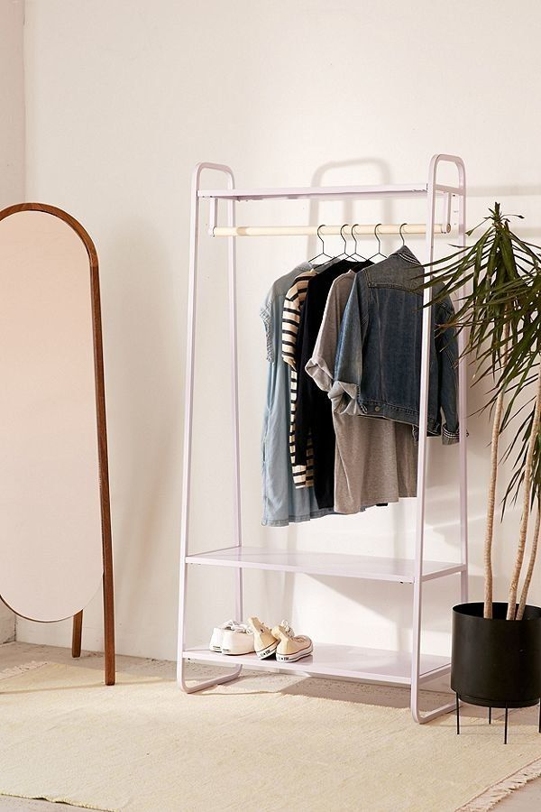 "No closet, no problem! If you're looking for <a href=""https://www.huffingtonpost.com/entry/store-your-clothes-without-a-close"
