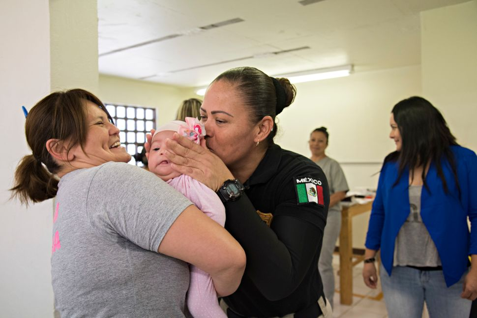 """When she grows up, I will tell her where she was,"" said Araceli, 35, of her 3-month-old daughter Jetzel. ""I don't know yet h"