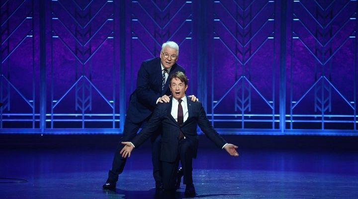 """Steve Martin and Martin Short: An Evening You Will Forget for the Rest of Your Life"" on Netflix."