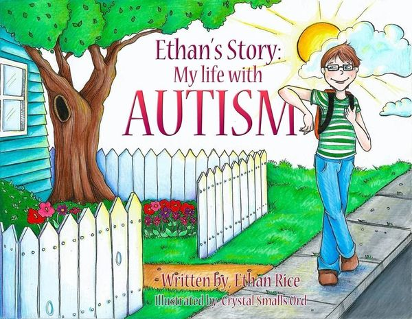Eight-year-old Ethan Rice shared his story with others to raise awareness and show what autism means to him. <