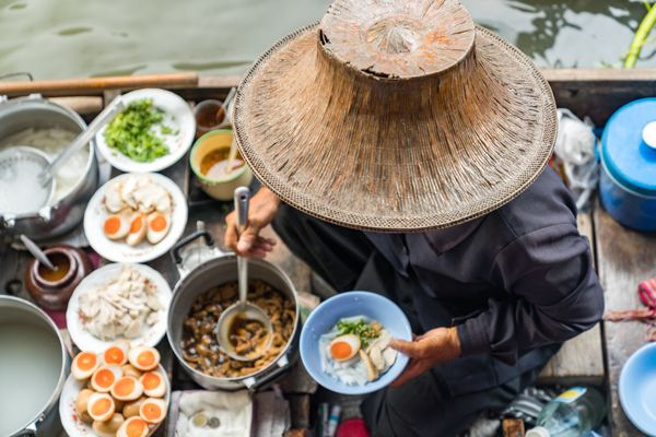 """Thai street food is perhaps the biggest reason people flock to Bangkok. From hot fried pork at <a href=""""https://www.tripadvis"""